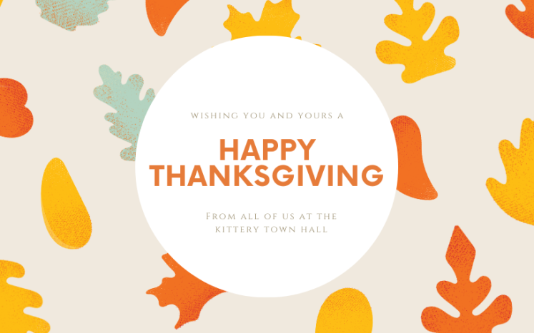 Thanksgiving Holiday Hours Kittery