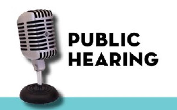 Public Hearing Notice Kittery