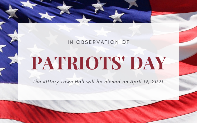 Patriots Day Kittery 2021